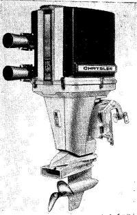 135-сильная гоночная модель мотора Крайслер