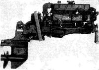 160-сильный шестицилиндровый двигатель Меркруйзер с угловой колонкой