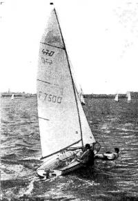 «470» на бейдевинде