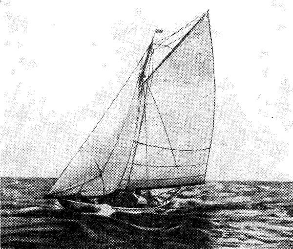 9-метровая яхта американского класса «Розали»