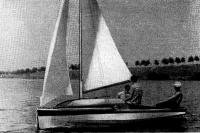 «Аэлита» лод парусами
