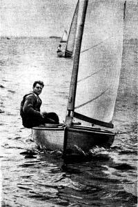 Александр Чучелов на своем Финне