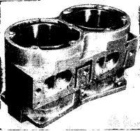 Алюминиевый блок цилиндров