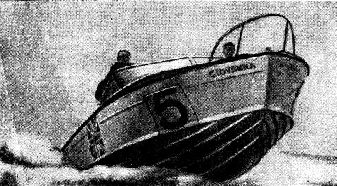 Английский дизельный катер Джиованна