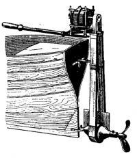 Английский подвесной электромотор Дюбулея