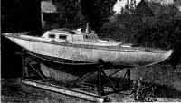 Армоцементная яхта Ариель готова к спуску