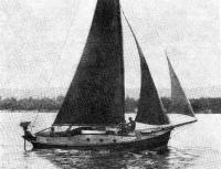 Армоцементная яхта «Цементал» на Днепре