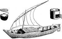 Астраханская лодка бударка