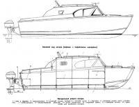 Боковой вид катера