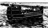 Большой тендер Ладожской флотилии