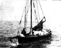 Брошенный яхтсменами «Ньорд». Фото сделано 19 сентября