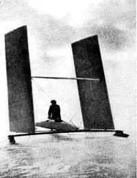 Буер с крыльями конструкции Н. М. Ермакова