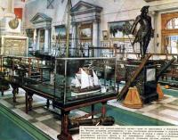 Центральный зал военно-морского музея