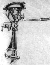 Чехословацкий подвесной мотор «Орлик-3»
