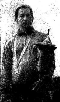 Чемпион Союза 1967 г. и серебряный призер мирового чемпионата в классе Финн В. Манкин