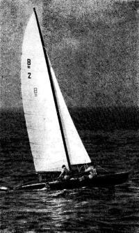 Чемпион СССР 1973 г. в классе «Торнадо» В. В. Васильев