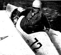 Чемпион СССР и рекордсмен Александр Ильин на своей Пиранье