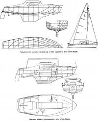 Чертежи яхты Гран-Ларж