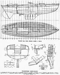 Чертежи яхты