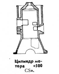 Цилиндр мотора «500 CS»