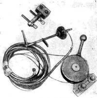 Дистанционное управление газом мотора