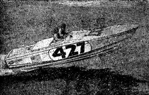 Дитер Шульце на скутере своей конструкции