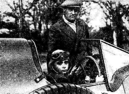 Дональд Кэмпбелл с отцом
