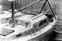 Достраивается крейсерская яхта класса III RORC