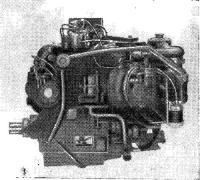 Двигатель в сборе с редуктором