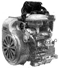 Двухцилиндровый двигатель «УД25»