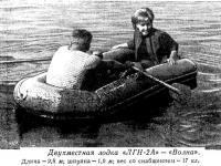 Двухместная лодка «ЛГН-2А» — «Волна»