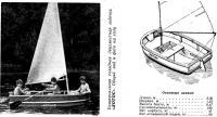 Двухместная лодка «Лотос»