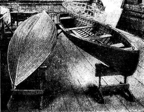 Двухпарные лодки для народной гребли