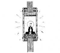 Двухсторонний светильник