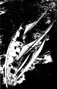 «Джипси Мот IV» в Атлантике