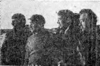 Экипаж Пингвина перед выходом из Хатанги