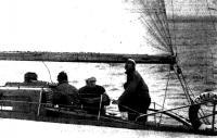 Экипаж яхты «Рига» — обладатель Кубка Балтики 1972—73 гг
