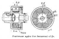 Эластичная муфта для двигателей «УД»