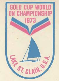 Эмблема мирового чемпионата 1973 по буерному спорту