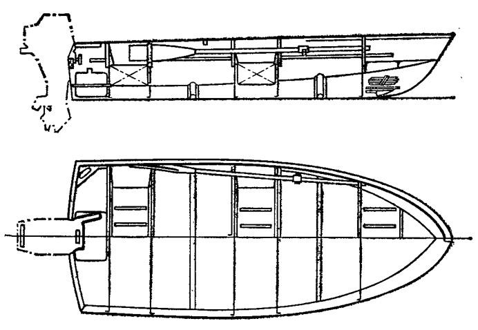 моторная лодка мотылек