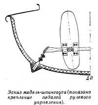 Эскиз мидель-шпангоута
