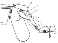 Эскиз подвесного электромотора