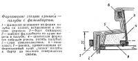 Формование секции крышки — палубы с фальшбортом