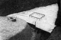Формование стекпоцементной надстройки и палубы