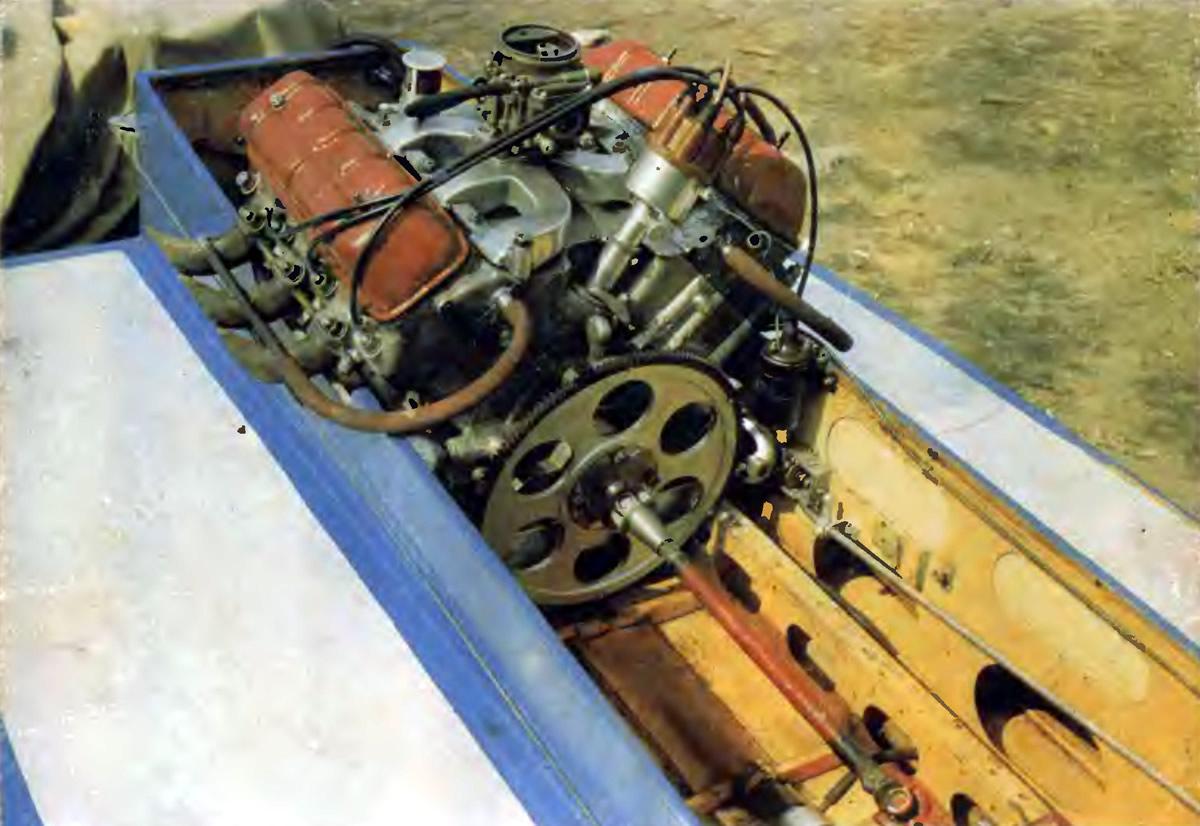 Двигатель для катера своими руками