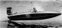 Фото катера «Леви-16» на полной скорости