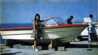 Фото лодки «Дракон» на берегу