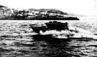 Фото лодки «Крым» на ходу