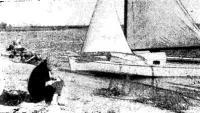 Фото мини-яхты