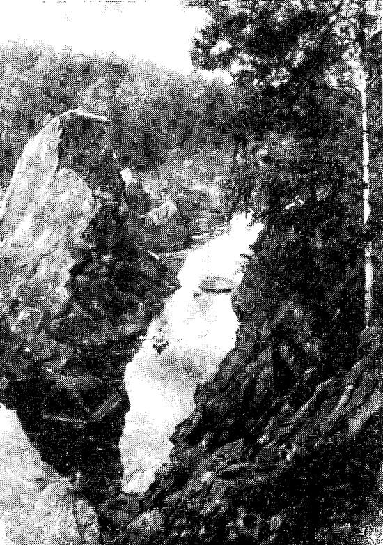 Фото одного из этапа маршрута